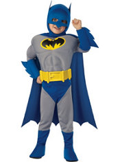 Toddler Boys Batman Muscle Costume - The Brave and the Bold Family