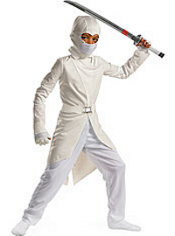 Boys Storm Shadow Costume Deluxe - G.I Joe