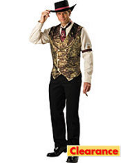 Adult Gamblin Man Costume Deluxe