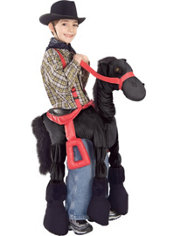 Child Ride A Pony Costume