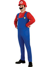 Adult Mario Costume - Super Mario Brothers