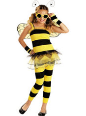 Girls Love Bug Little Honey Bee Costume