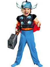Toddler Boys Thor Costume