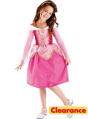 Girls Aurora Costume Deluxe