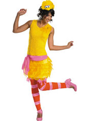 Adult Sassy Big Bird Costume - Sesame Street