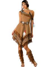Adult Maiden Native American Costume Elite