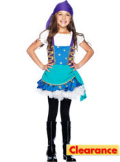 Girls Gypsy Princess Costume