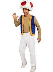 Adult Toad Costume - Super Mario Brothers