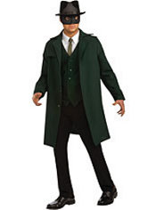 Adult Green Hornet Costume Deluxe