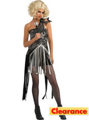 Adult Star Dress Lady Gaga Costume