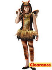 Girls Strangelings Owlyn Costume