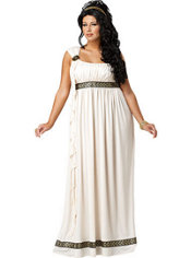 Adult Olympic Goddess Costume Plus Size