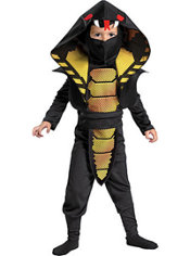 Toddler Boys Cobra Ninja Costume
