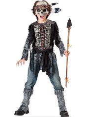 Boys Spirit Warrior Costume
