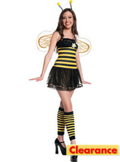 Teen Girls Daisy Bee Costume