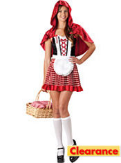 Teen Girls Red Riding Hood Costume