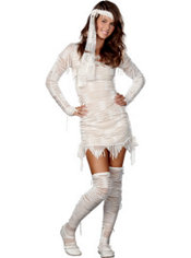 Teen Girls Yo! Mummy Costume