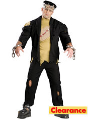 Adult Monster Costume Plus Size Elite