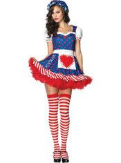 Adult Darling Dollie Rag Doll Costume