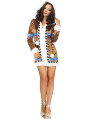 Adult Igloo Cutie Sexy Eskimo Costume