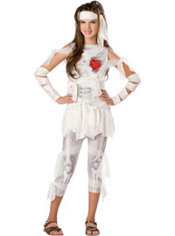 Girls Love Mummy Costume