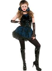 Teen Girls Midnight Vampire Costume