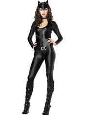 Adult Femme Fatale Catsuit Costume