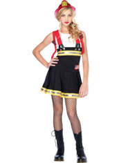 Teen Girls Sweetheart Firefighter Costume