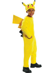 Boys Pikachu Costume Deluxe - Pokemon