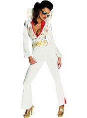 Adult Sexy Elvis Costume