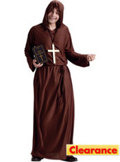 Drunk Monk Costume Adult