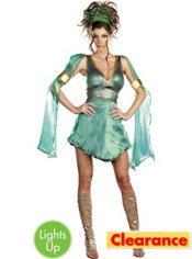 Adult Mythical Medusa Light-Up Costume