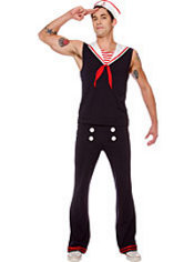 Adult Retro Sailor Costume