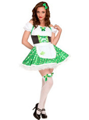 Adult Good Golly Miss Molly Leprechaun Costume