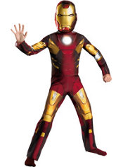Boys Mark VII Iron Man Costume - The Avengers