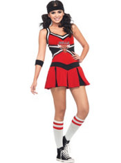 Adult Chicago Bulls Cheerleader Costume