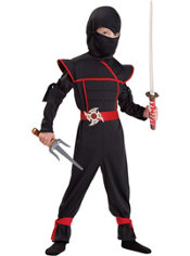 Toddler Boys Stealth Ninja Costume