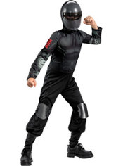 Boys Snake Eyes Costume - G.I. Joe
