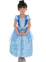 Girls Classic Cinderella Costume