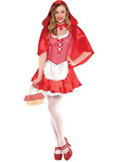 Teen Girls Miss Riding Hood Costume