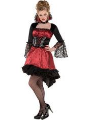 Teen Girls Va-Va-Vampire Costume