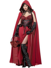 Adult Crimson Red Riding Hood Costume