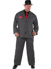 Adult Mob Boss Costume Plus Size