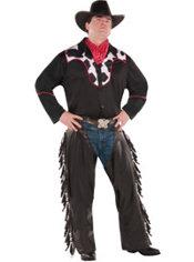 Adult Cowboy Costume Plus Size