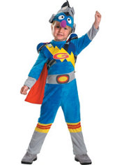 Toddler Boys Super Grover Costume - Sesame Street