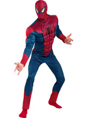 Adult Amazing Spider-Man Muscle Costume- The Amazing Spider-Man