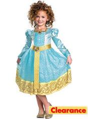 Girls Merida Costume Deluxe - Brave
