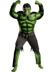 Adult Hulk Costume - The Avengers