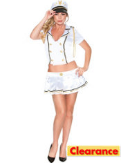 Adult Sexy Sails Playboy Captain Costume