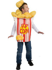 Child Kid Kernel Popcorn Costume